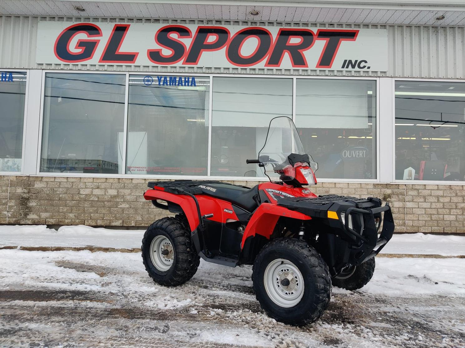 2009 Polaris SPORTSMAN 500 HO