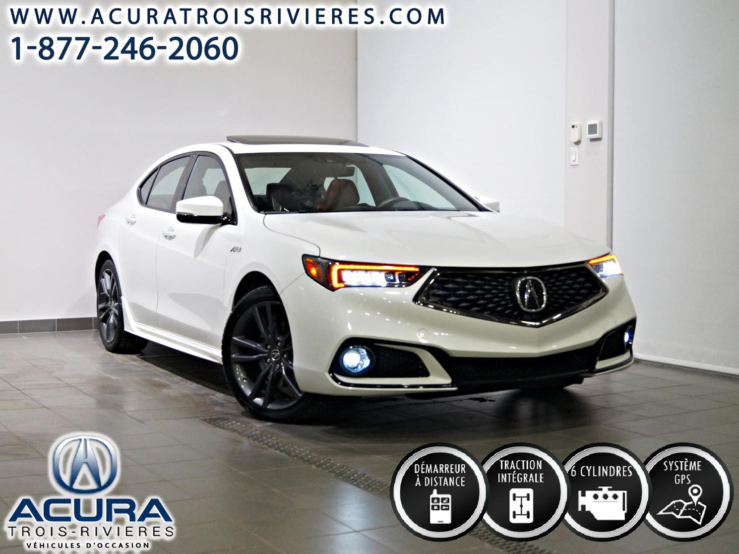 2019 Acura TLX SH-AWD / V6 / A-SPEC / TECH / cuir rouge  ** 1.99% disponible **