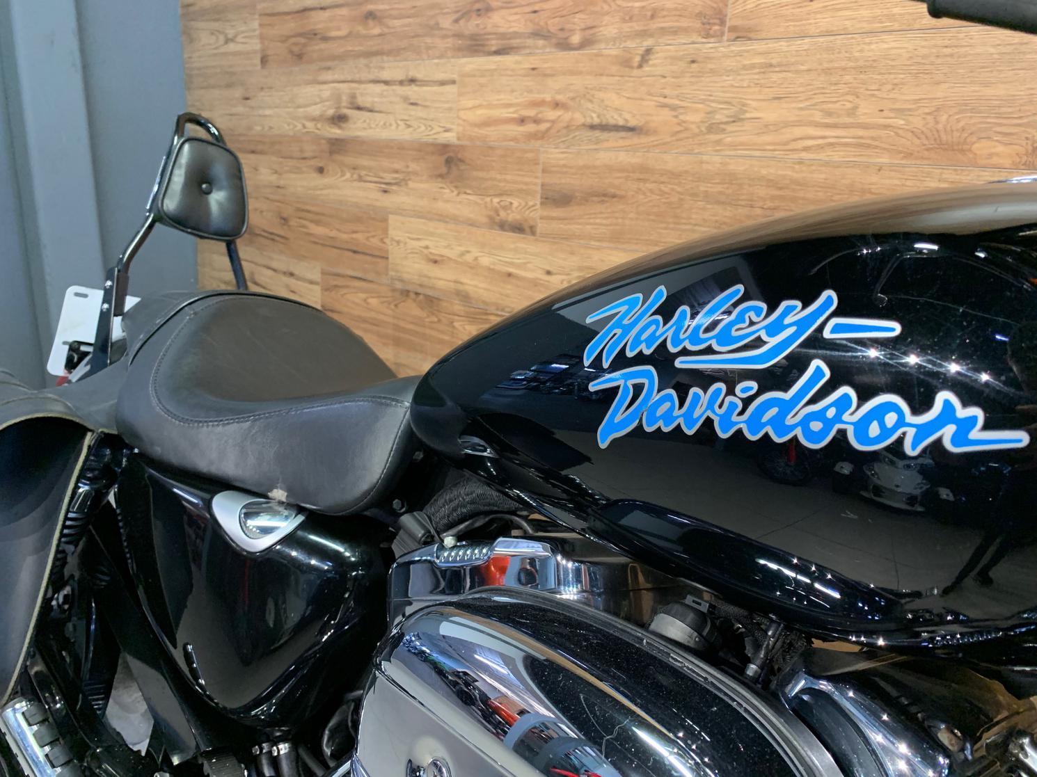 Pre Owned 2007 Harley Davidson Sportster 1200 Custom Xl1200c In Mirabel Motoplex Mirabel