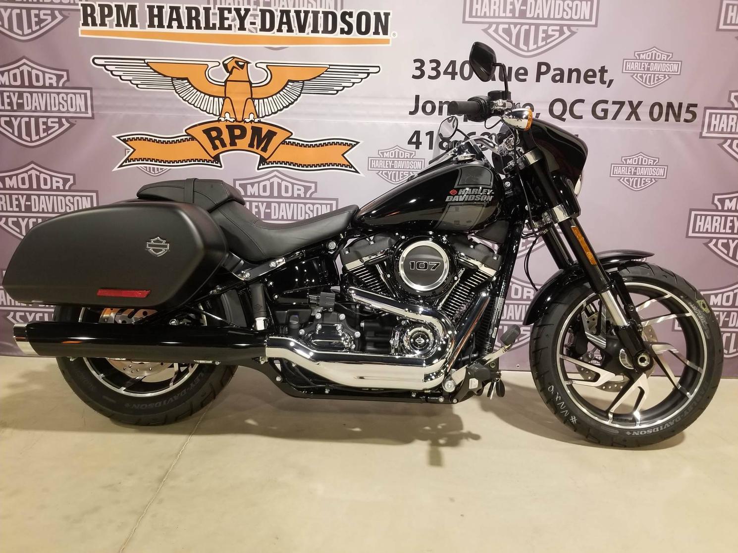 Harley-Davidson Softail Sport Glide 2021 - FLSB