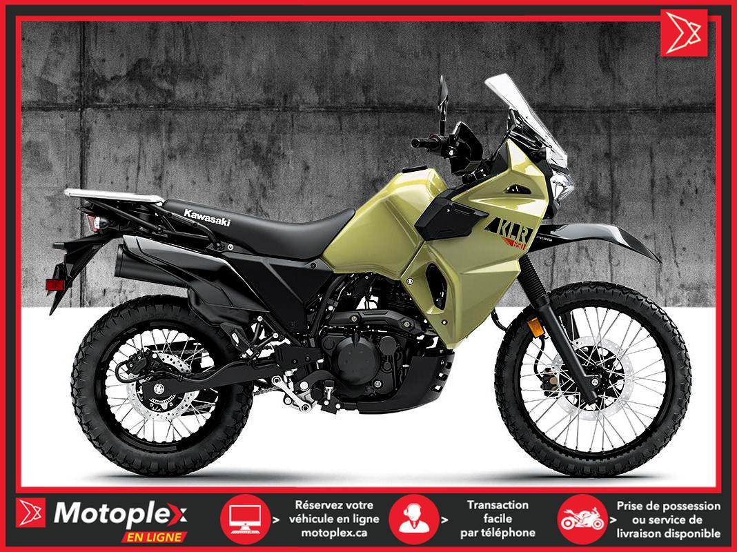 2022 Kawasaki KLR650 KAKI SABLE
