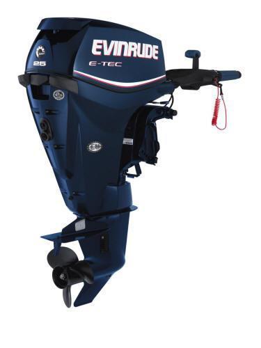 """Evinrude 25HP 2013 - 15"""" ETEC/TIL/EL"""