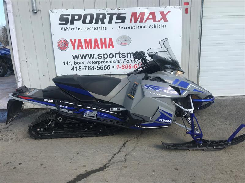 2018 Yamaha SRViper L-TX - USAGER/USED