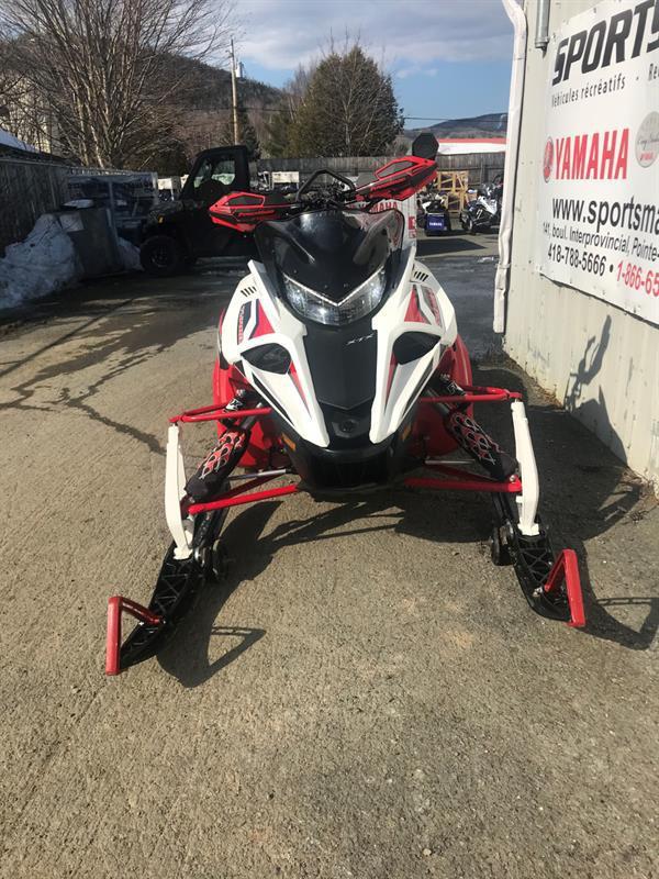 2017 Yamaha Sidewinder X-TX - USAGER/USED