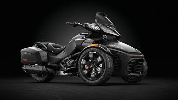 2016 Can-Am CAN-AM SPYDER F3 LTD Special Series