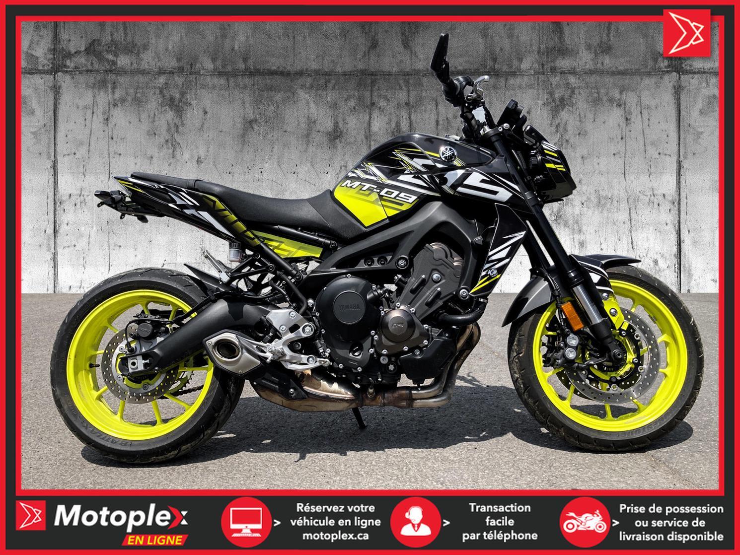 2018 Yamaha MT09 ABS 43$/SEMAINE