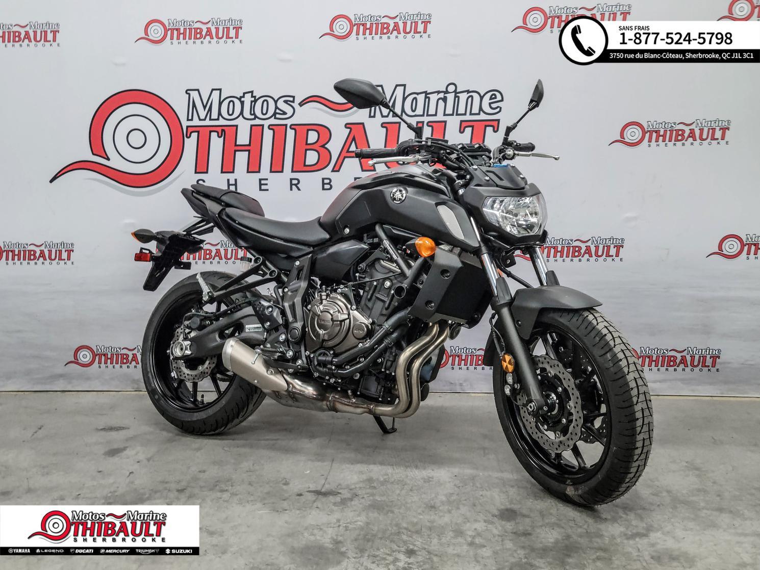 Yamaha MT-07 - Naked ABS 2020