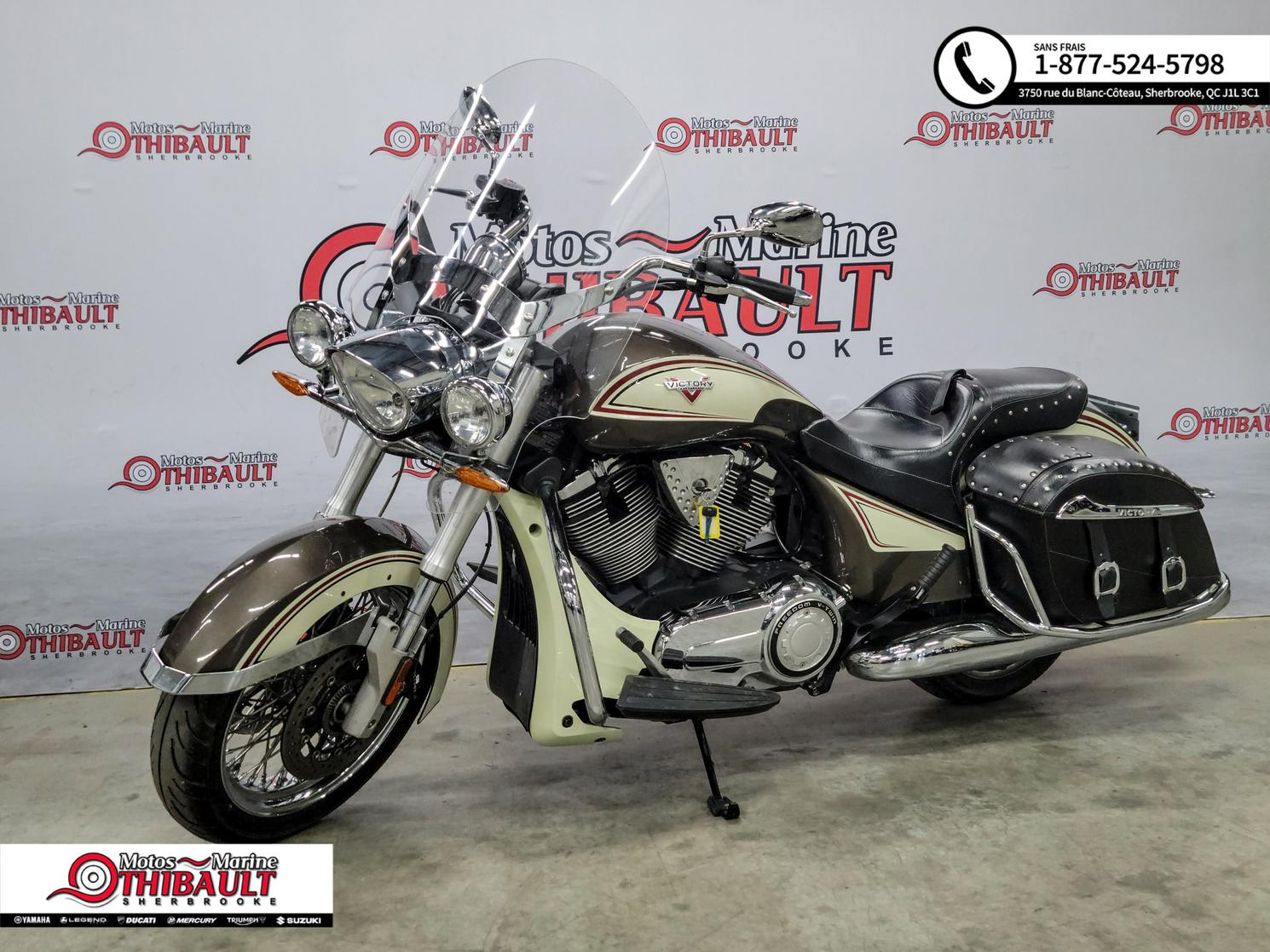 Victory Motorcycles Cross Roads 2014