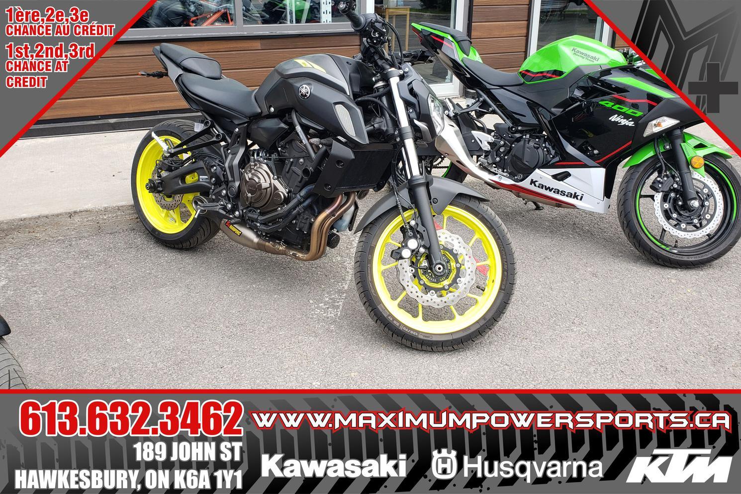 Yamaha MT-07 2018 - MT-07