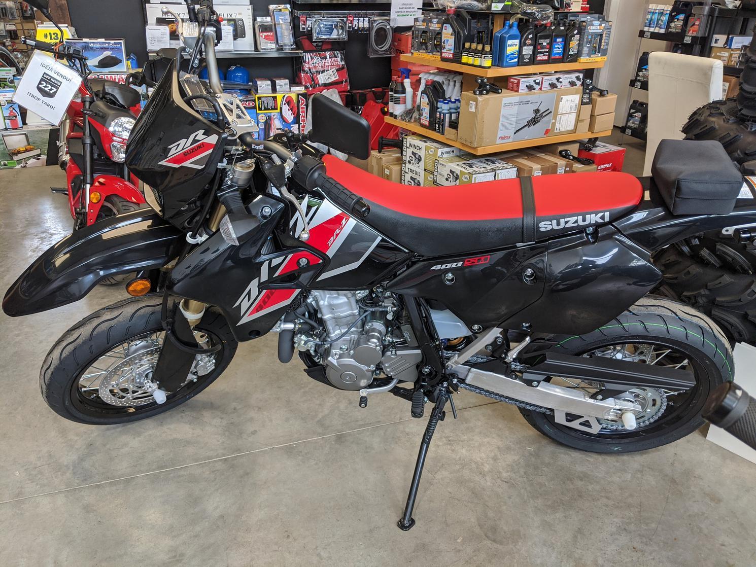 Suzuki DR-Z 400SM 2021