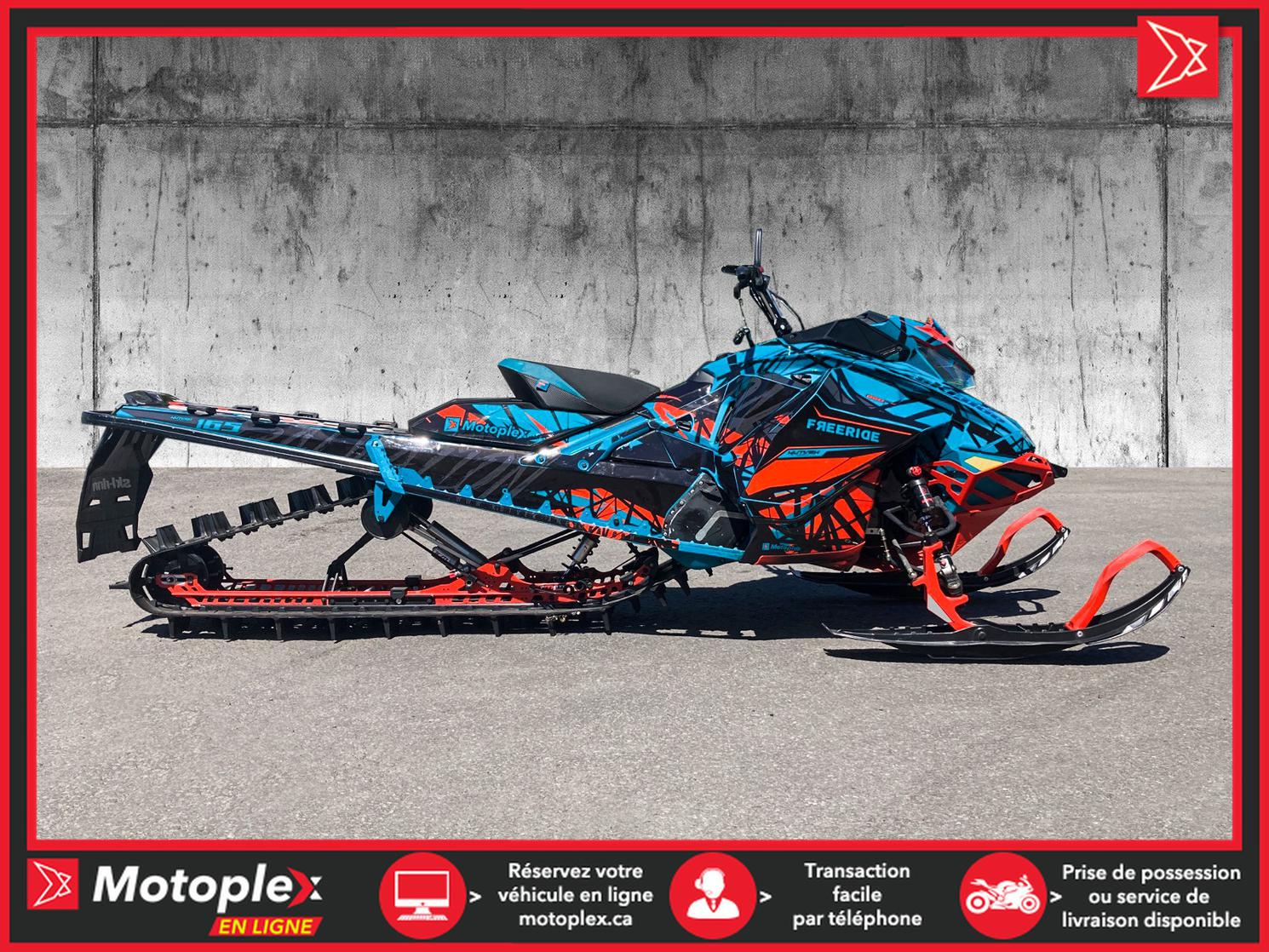 2019 Ski-Doo FREERIDE 850 E-TEC SHOT 163 46$/SEMAINE