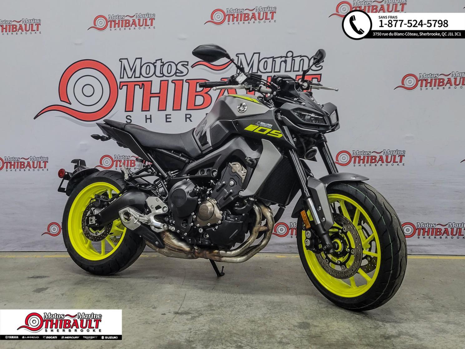 2018 Yamaha MT-09 Naked ABS