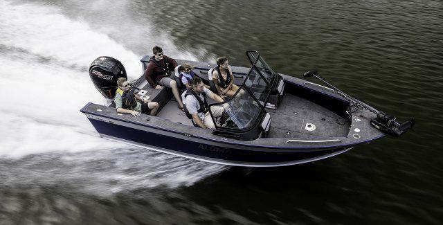2021 Alumacraft boat for sale, model of the boat is ALUMACRAFT TROPHY 195 & Image # 6 of 6