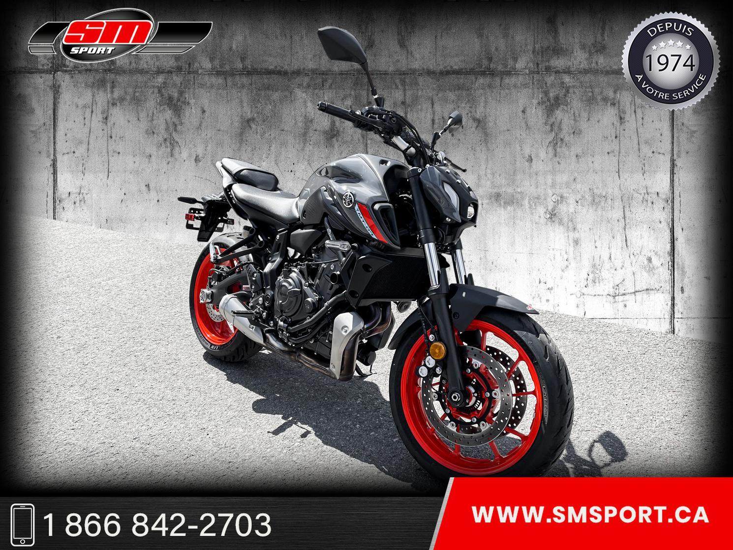 Yamaha MT-07 2021 - NOUVEAU MODELE 2021 - DISPONIBLE