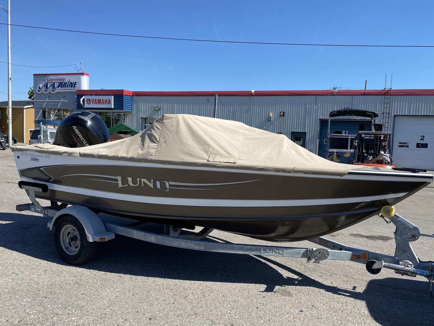 2014 Lund Boat Co Crossover 1755 Fish & Ski