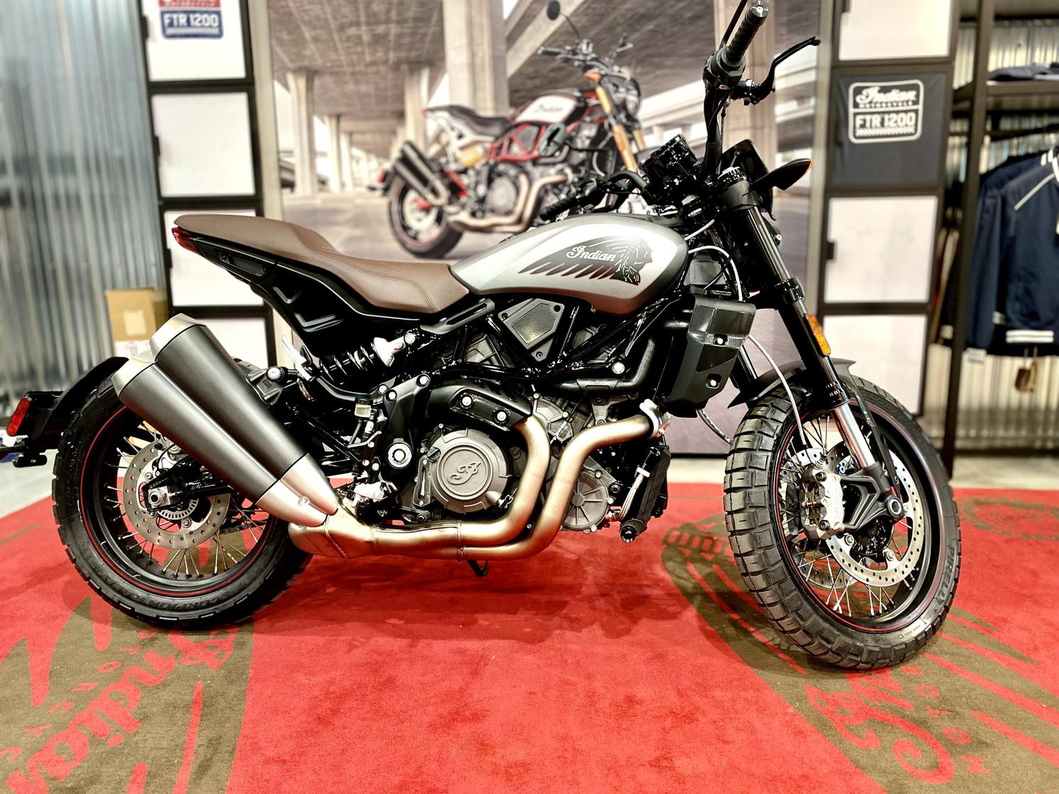 Indian Motorcycle FTR RALLY 2022