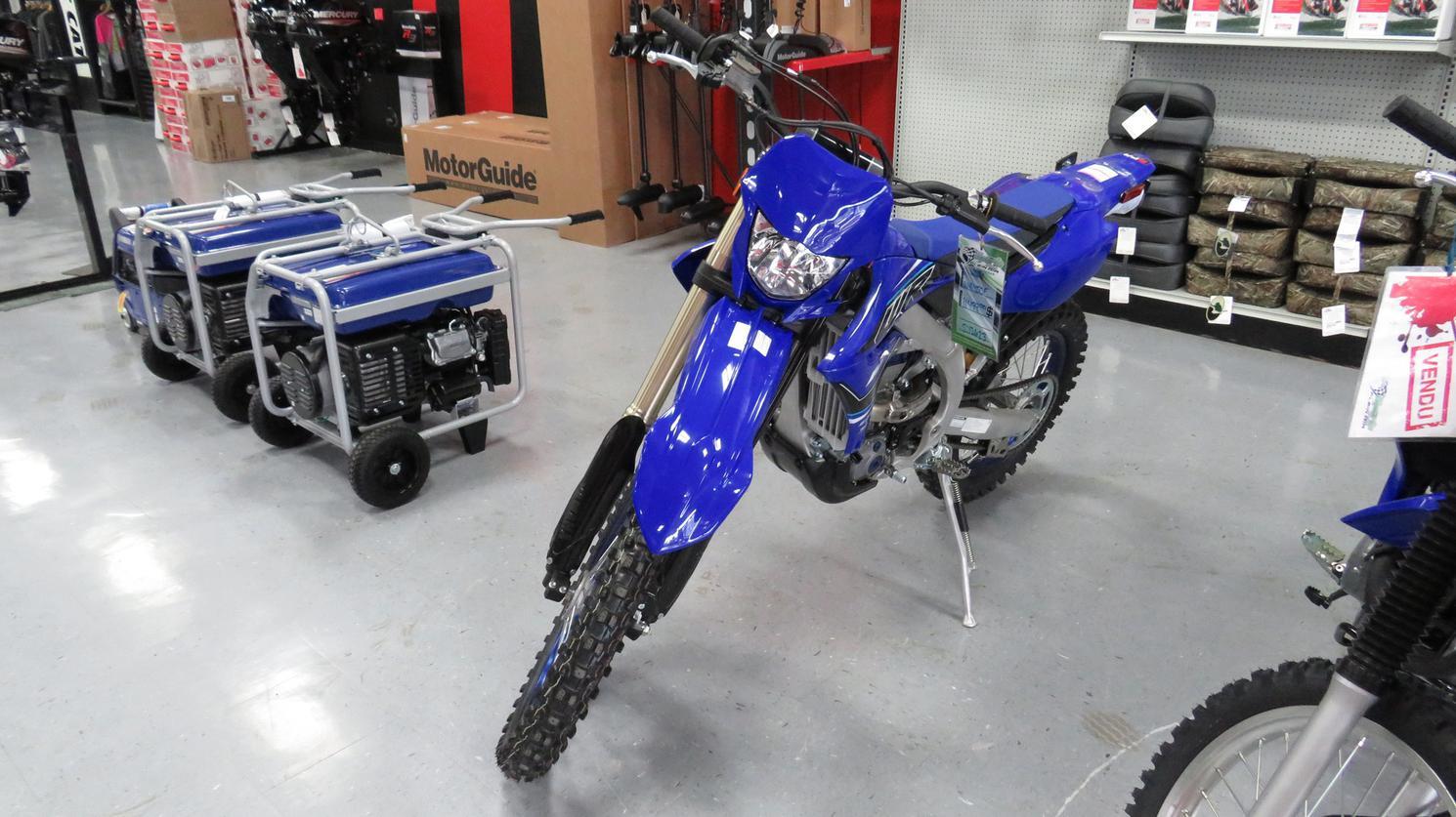 Yamaha WR450F 2021 2021