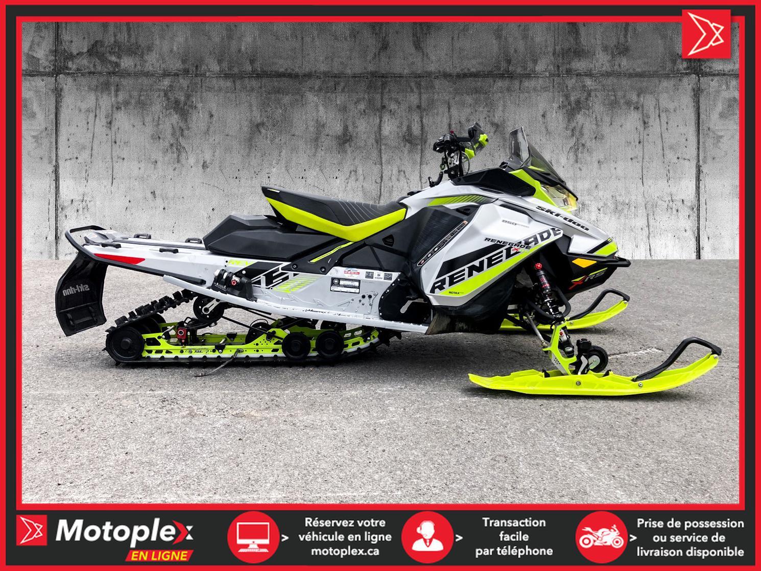 2018 Ski-Doo RENEGADE 850 XRS - 43$/SEMAINE