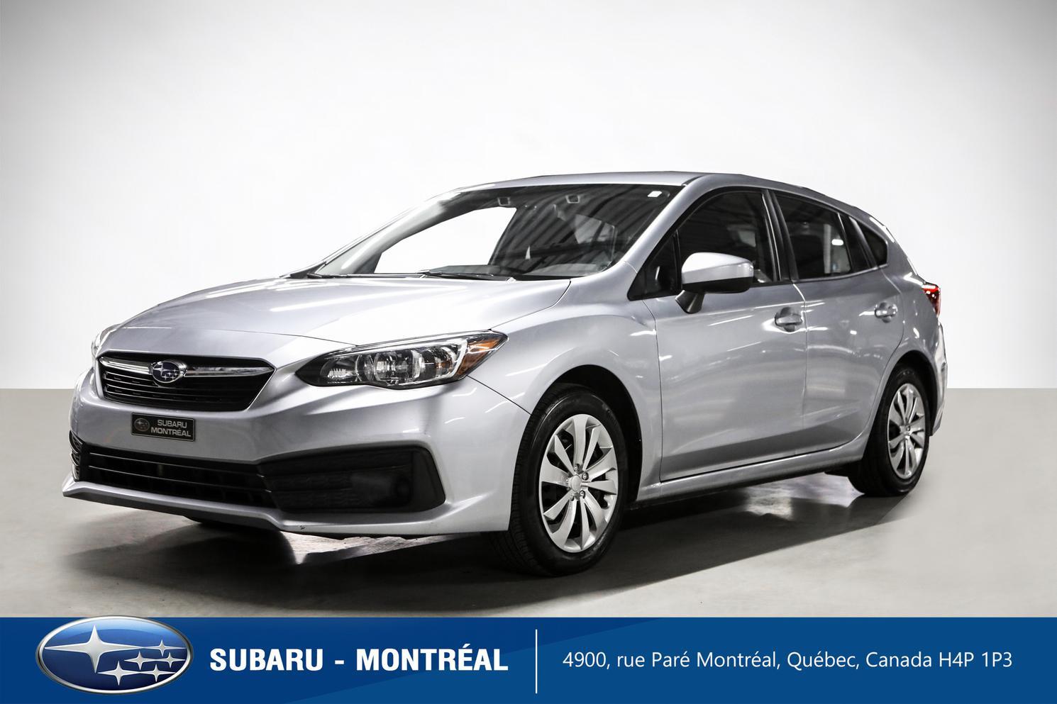 2020 Subaru Impreza Convenience Eyesight Hatchback