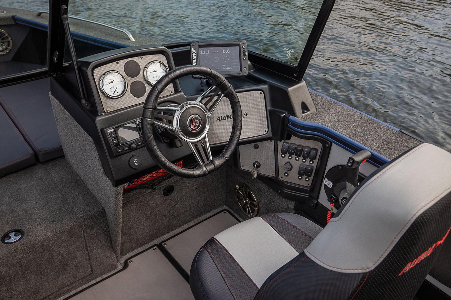 2021 Alumacraft boat for sale, model of the boat is ALUMACRAFT TROPHY 195 & Image # 3 of 6