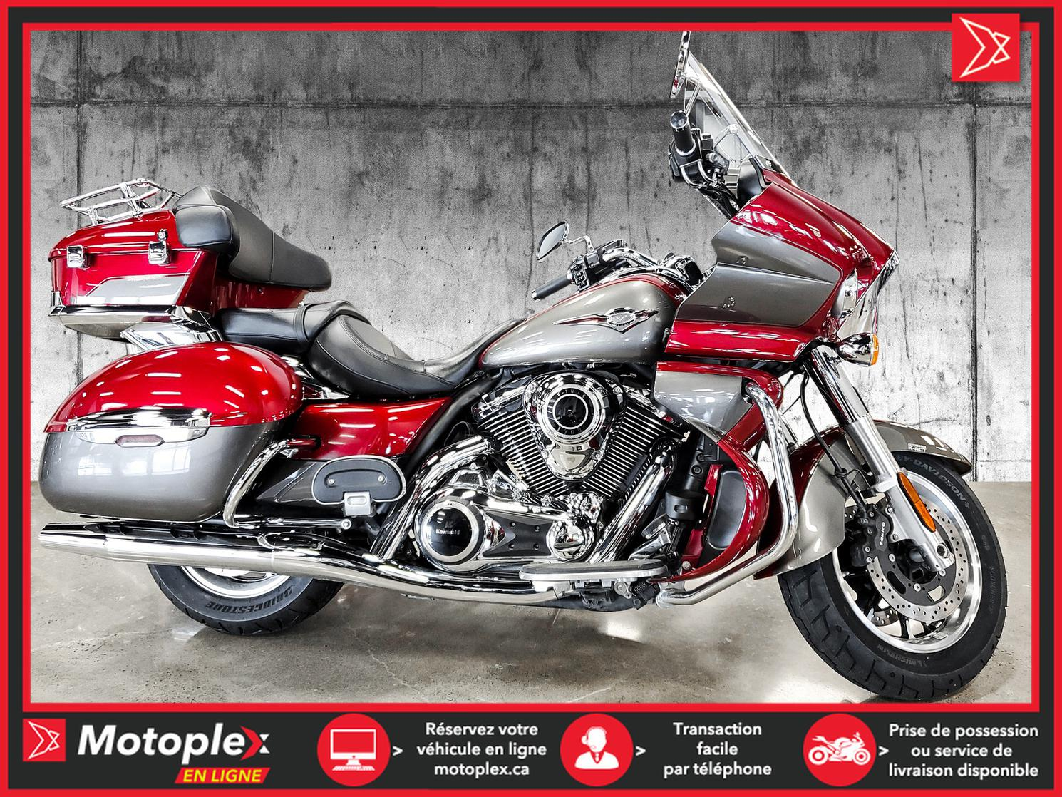 2018 Kawasaki VULCAN 1700 VOYAGER VN1700 ABS 51$/semaine