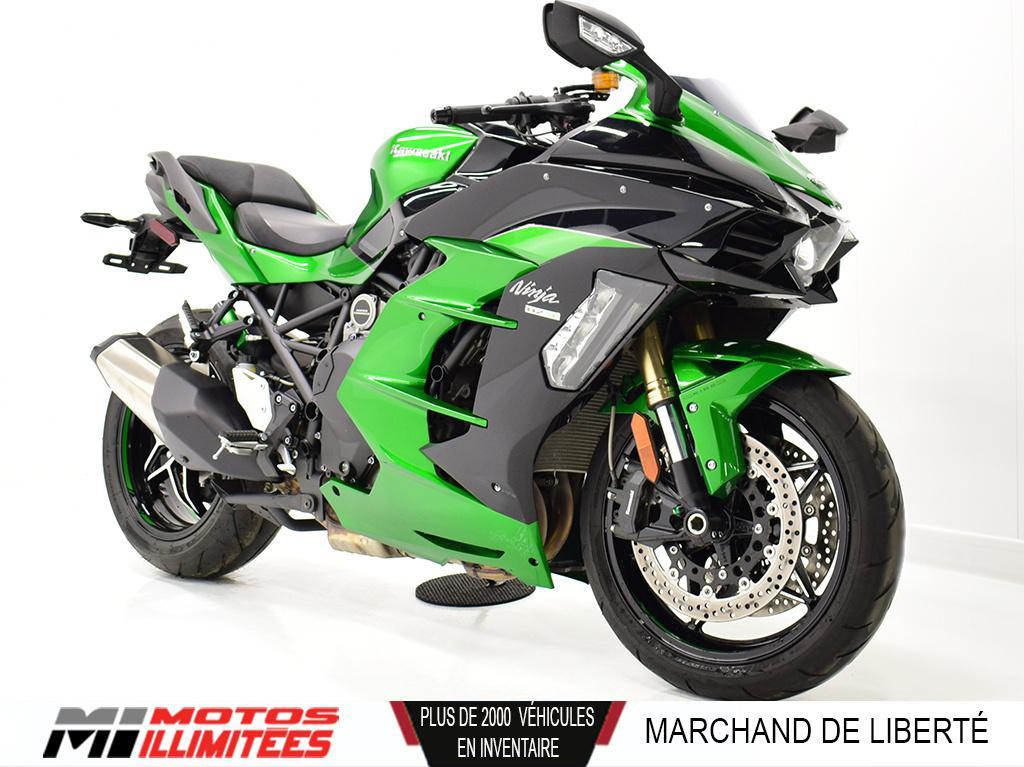 2018 Kawasaki Ninja H2 SX SE Démonstrateur 6155 Km. Frais inclus+Taxes