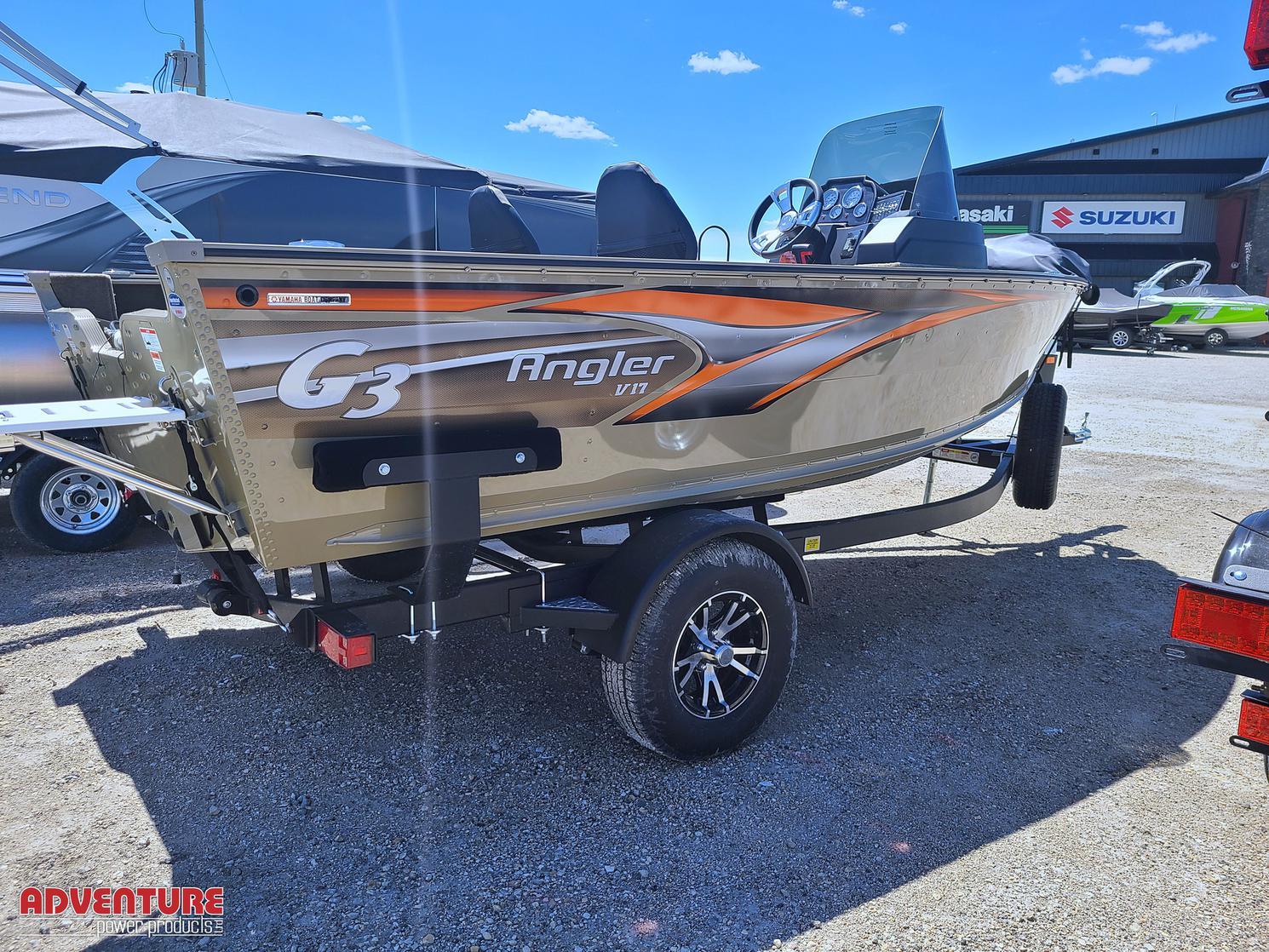 2021 G3 Angler V17 C w/ VF90XA Yamaha Outboard