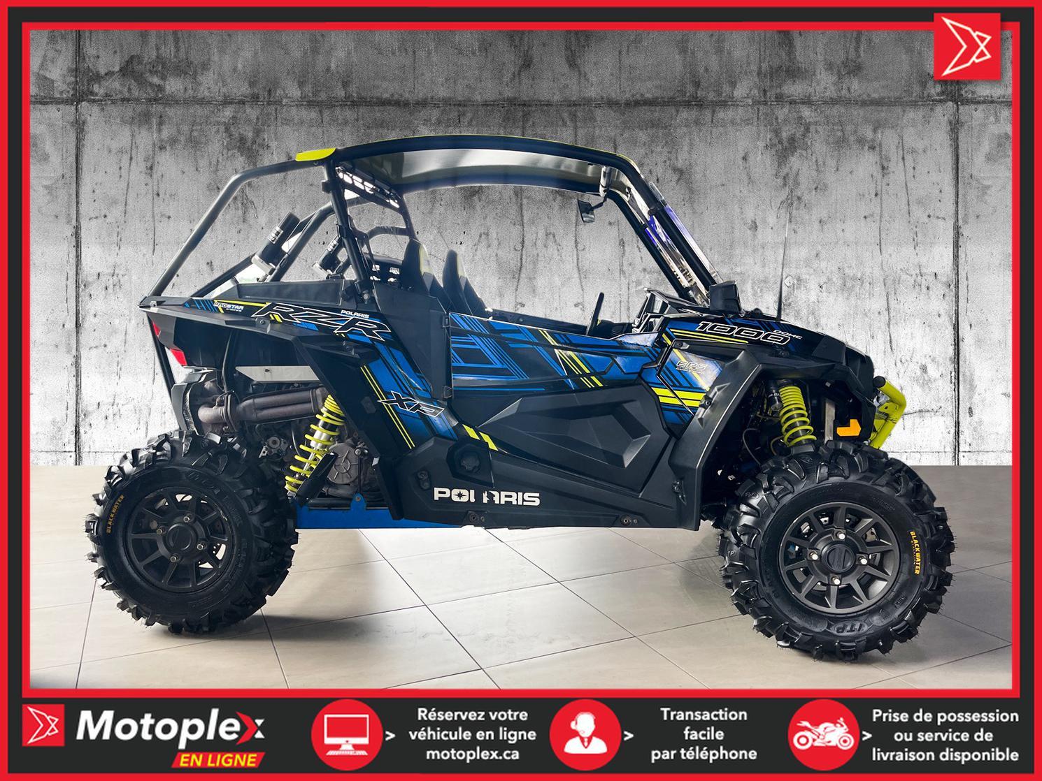 2017 Polaris RZR 1000 XP RIDE COMMAND - 58$/SEMAINE