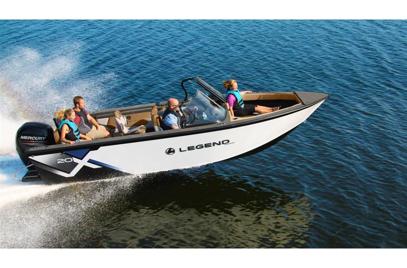 2021 Legend Boats X20