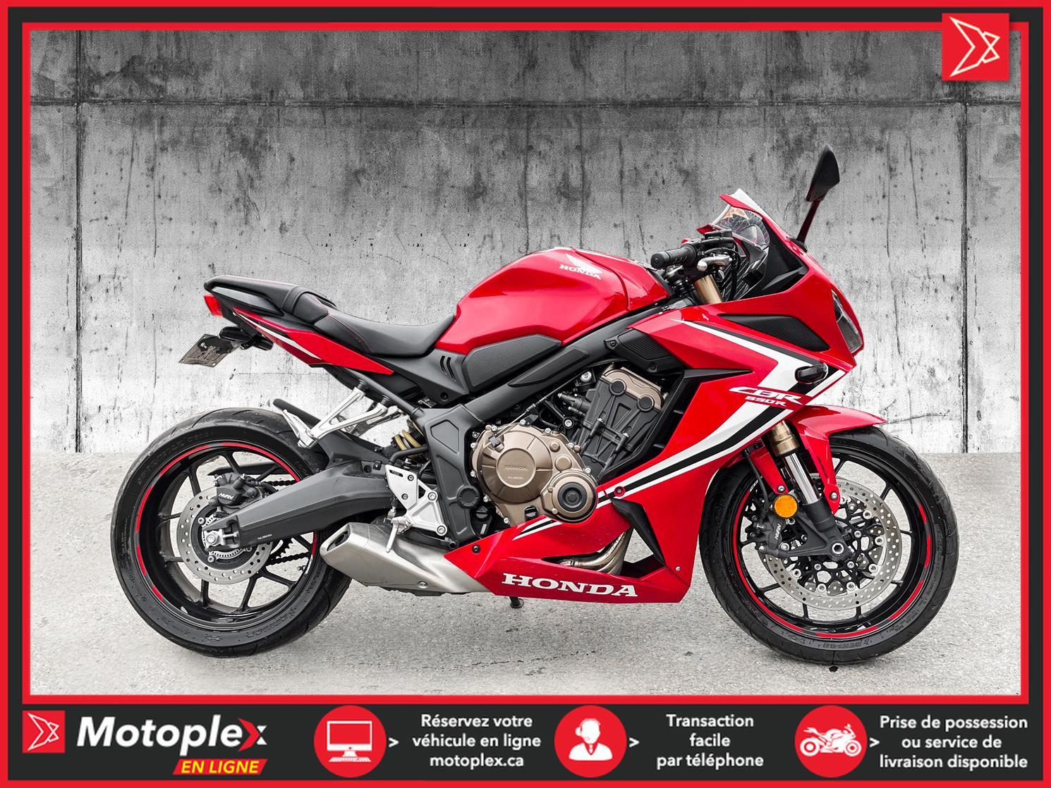 2020 Honda CBR 650R - 40$/SEMAINE