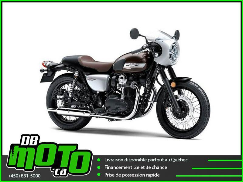 Kawasaki W800 CAFE DEMO !! 368 KM !! 2019