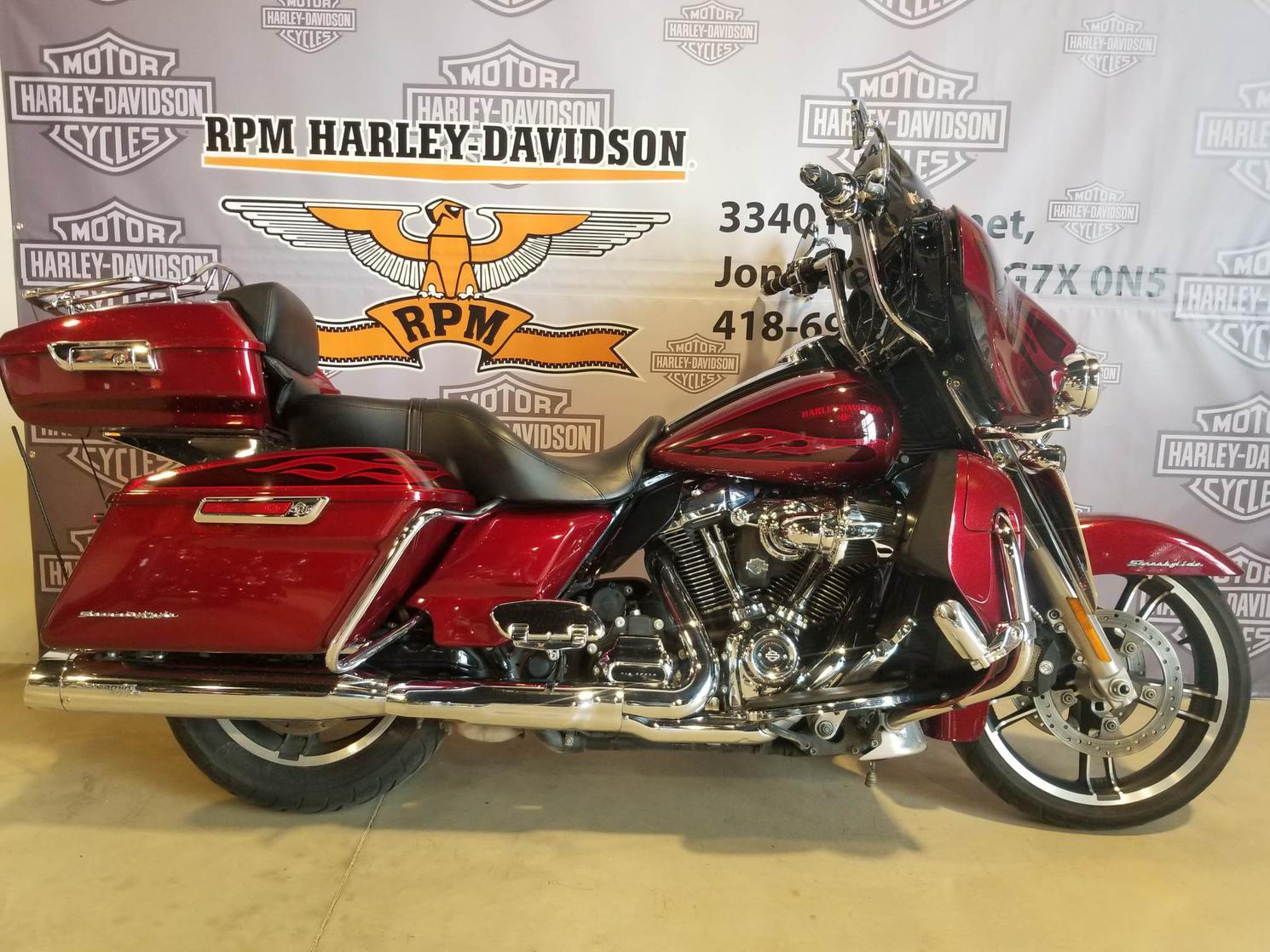 HB645953 Harley-Davidson Street Glide Special 2017