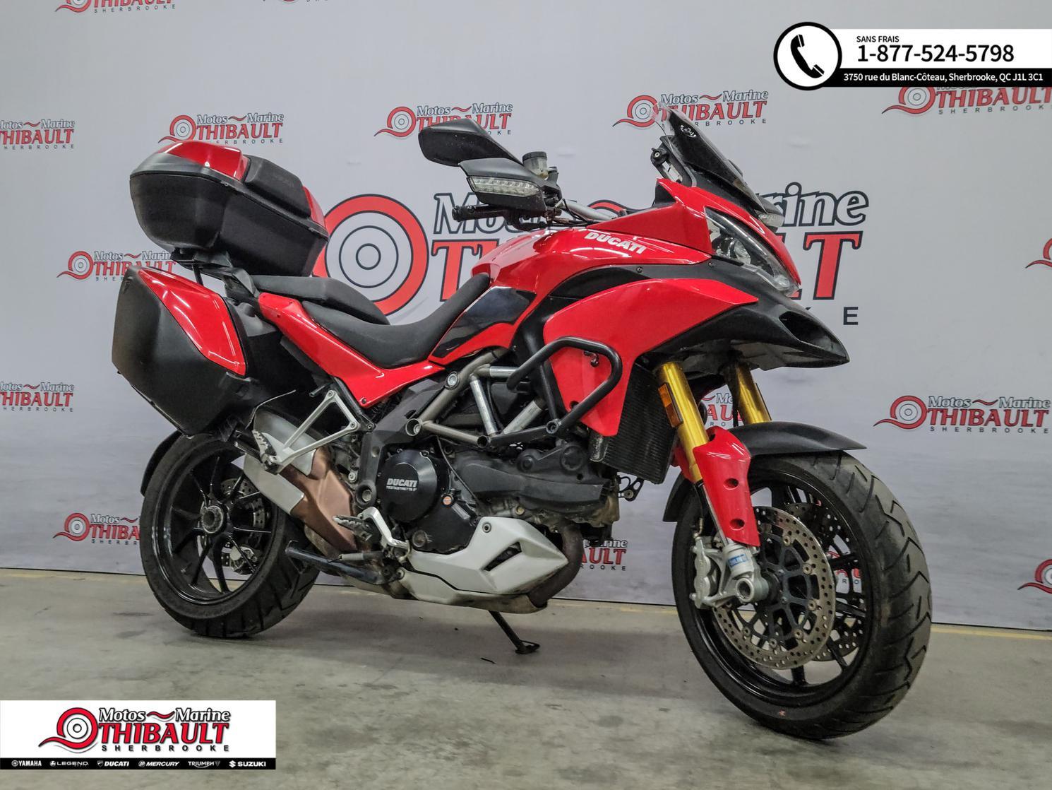Ducati Multistrada 1200S - Touring 2011
