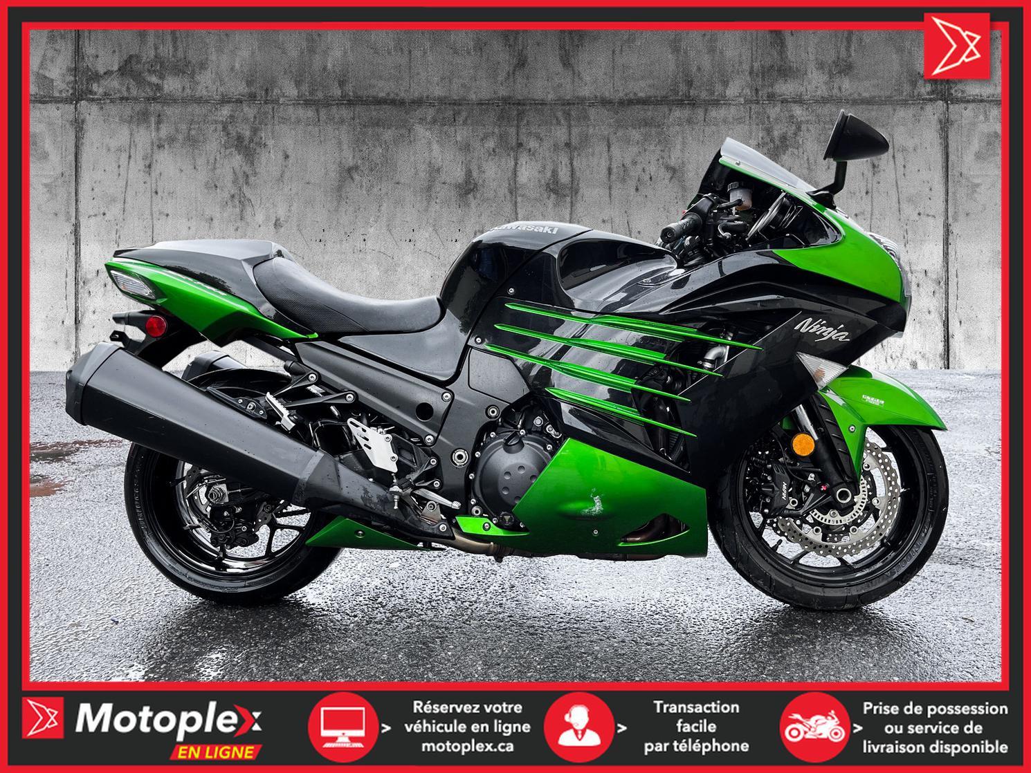 2014 Kawasaki ZX14R 45$/SEMAINE