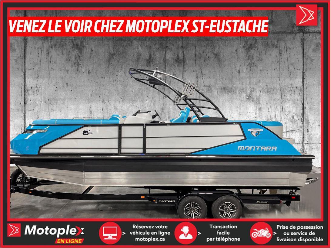 2021 Montara Ponton 25 Surf Boss PCM 450 HP 2021