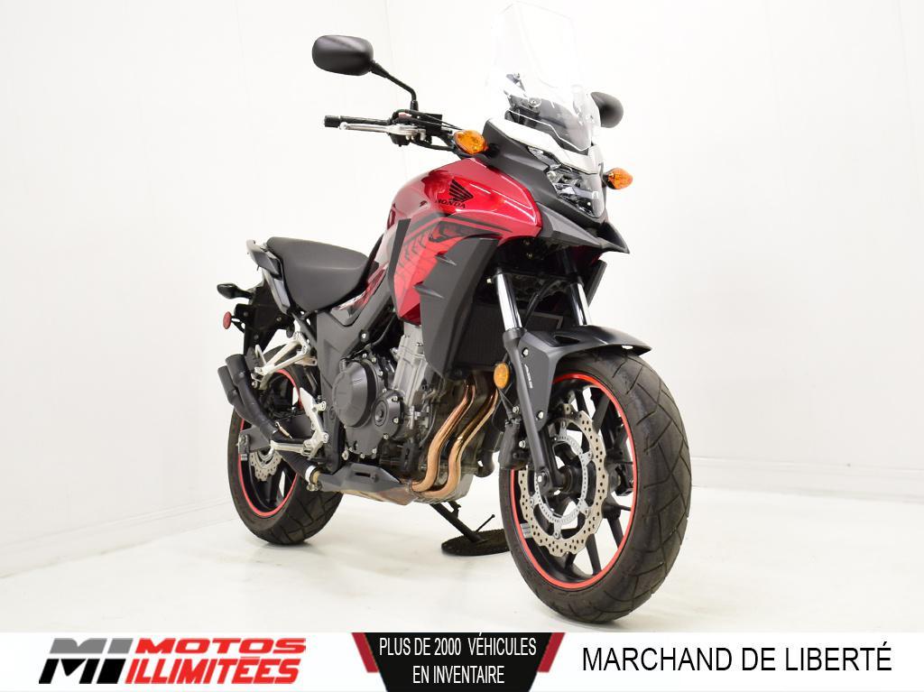 2018 Honda CB500X ABS Frais inclus+Taxes