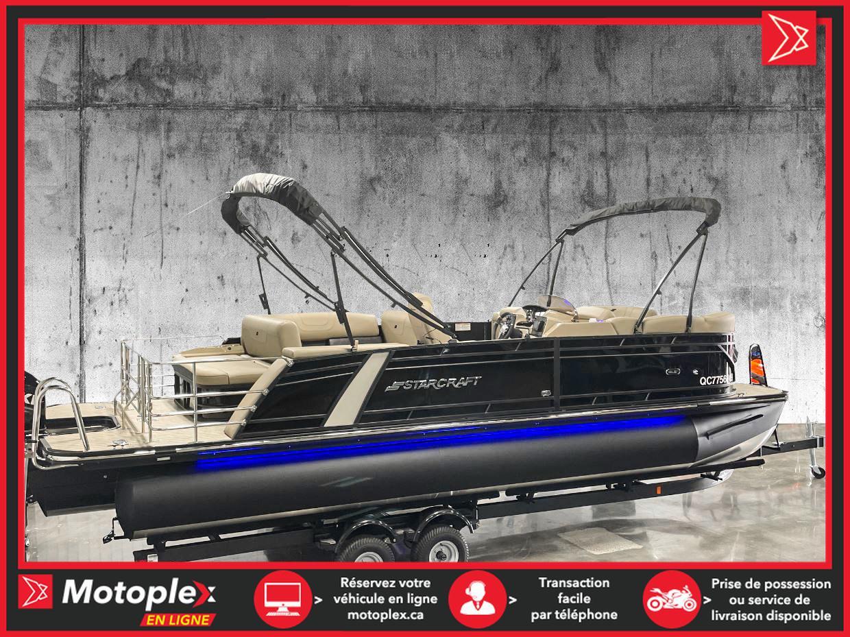 2021 Starcraft Marine Ponton SLS 3 Q – 3 TUBES – Moteur 300 HP (inclus)