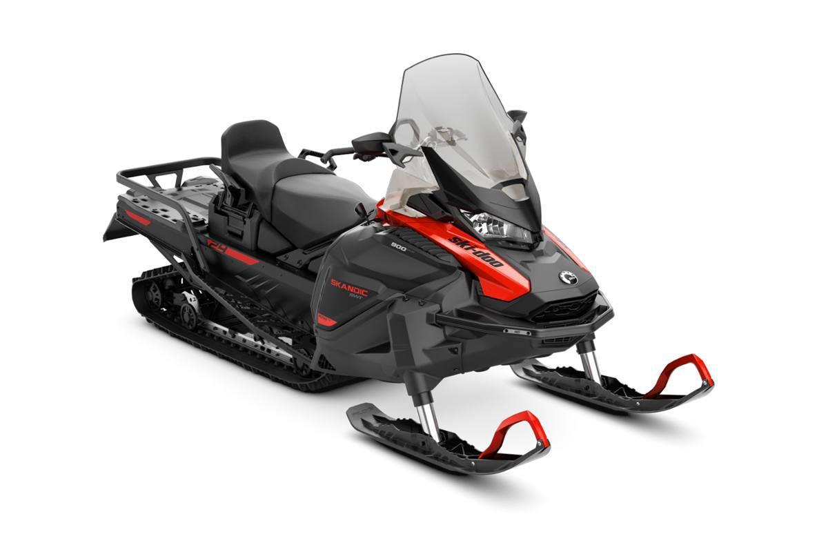 2022 Ski-Doo SKANDIC WT 600R B E 154 1.5CST8