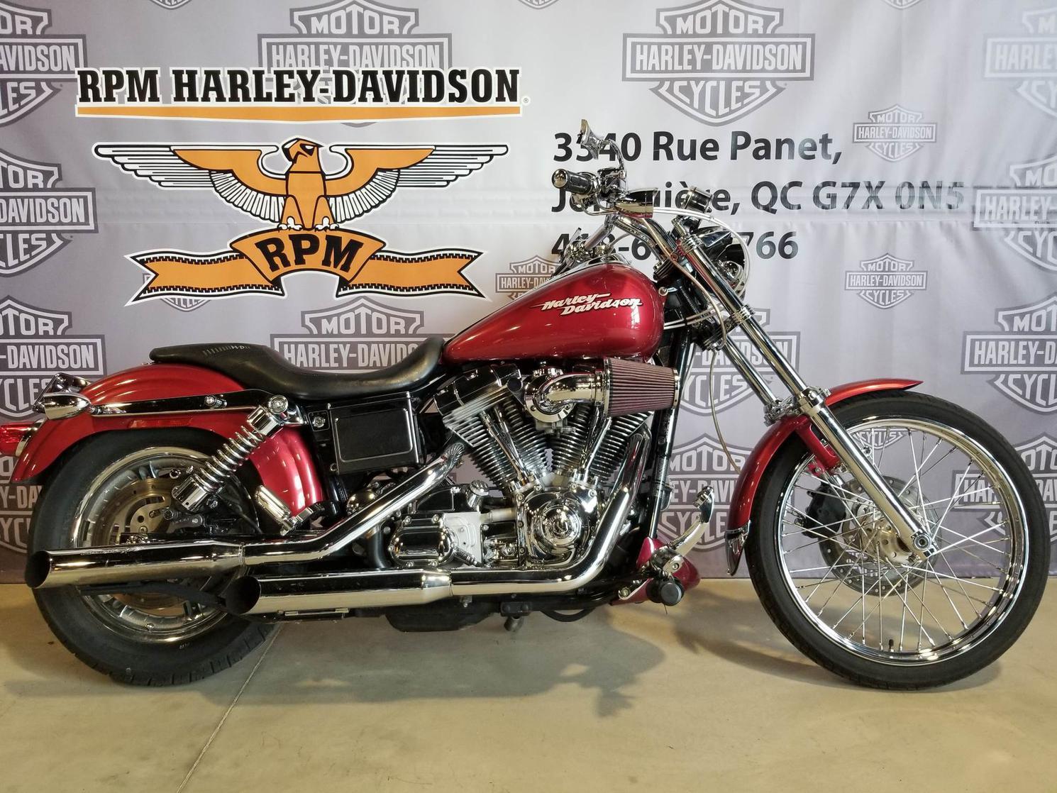 K313916 Harley-Davidson Dyna Super Glide 2005