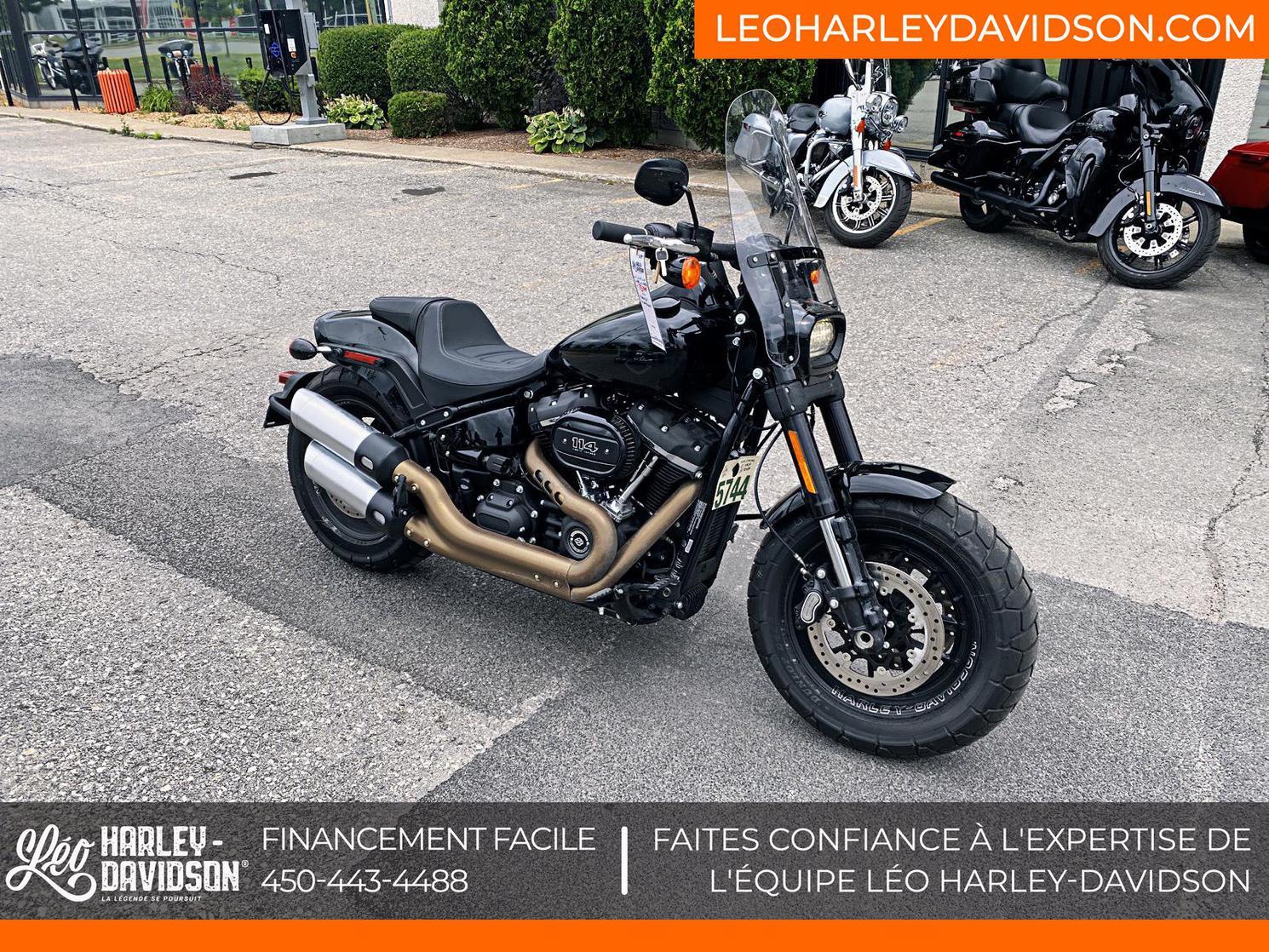 Harley-Davidson ST-Softail-Fat Bob 114 2021 - FXFBS