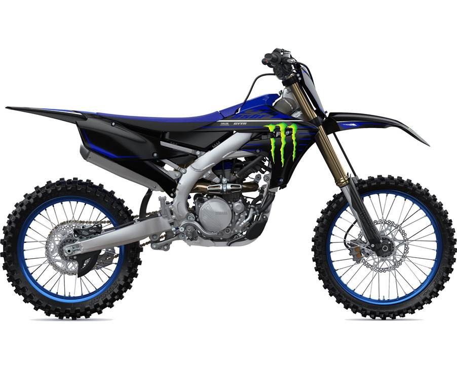 2022 Yamaha YZ250F Monster Energy Frais inclus+Taxes