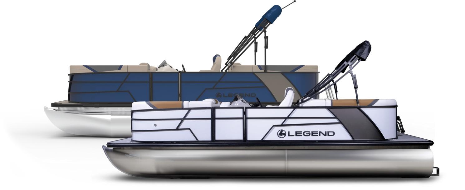 2022 Legend 21 Cruise Pontoon WHITE