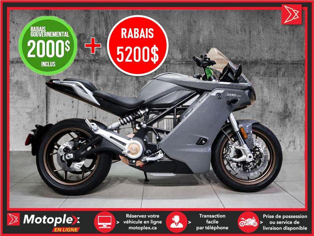 2020 Zero Motorcycles Moto électrique – SR/S PREMIUM Autonomie 320 KM