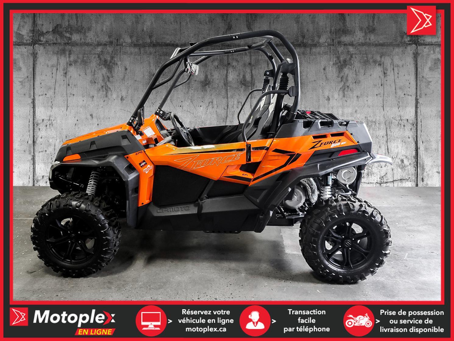 2021 CFMOTO Z-FORCE 800 EX EPS LX  ( DÉMO ) - 54$/semaine