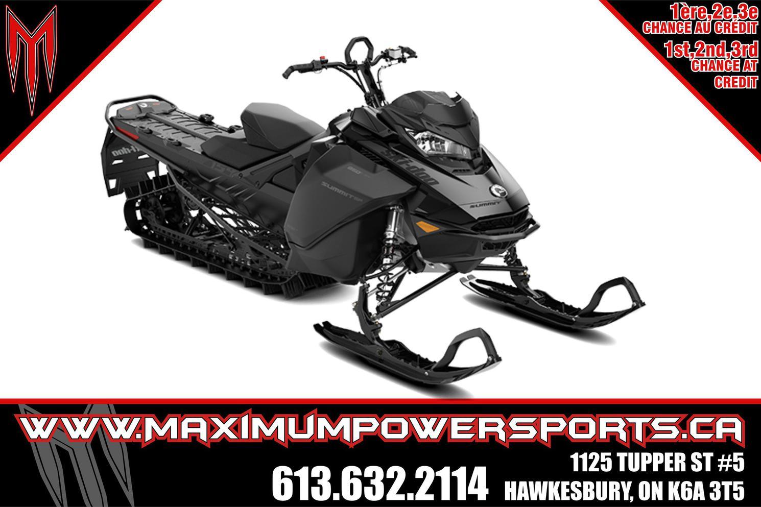 2022 Ski-Doo SUMMIT SP 154 850 E-TEC POWDERMAX LIGHT FLEXEDGE - SUMMIT SP 154 850 E-TEC POWDERMAX LIGHT FLEXEDGE 2.5 E.S.