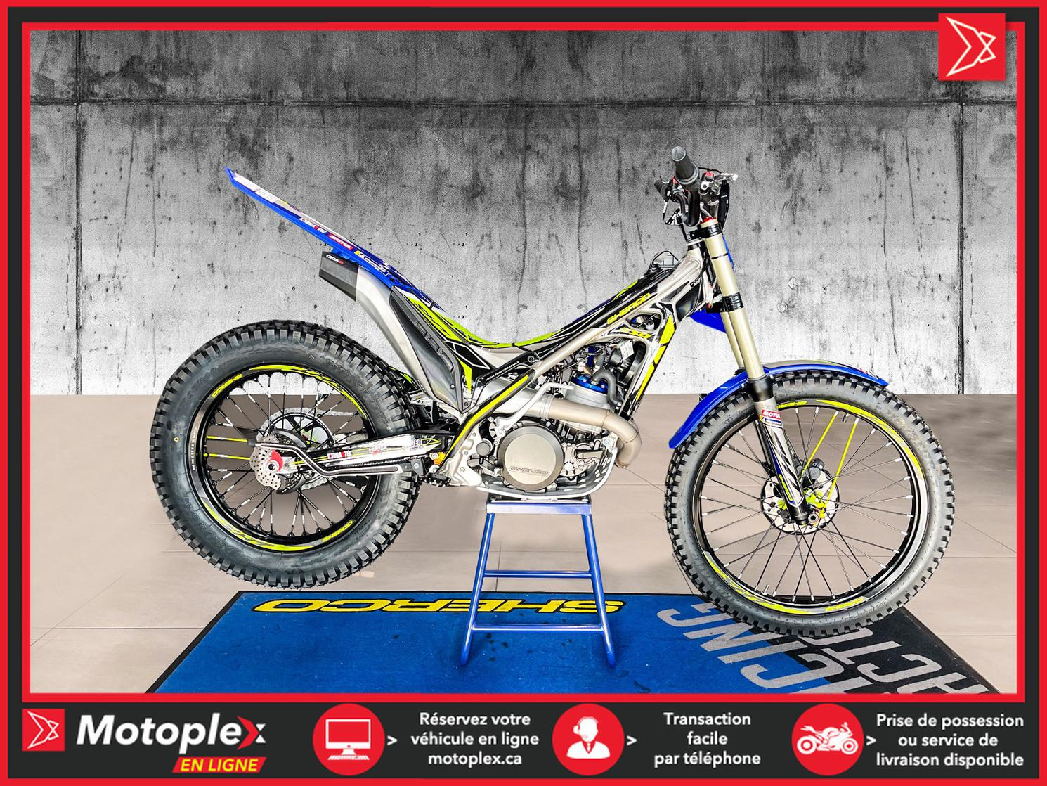 SHERCO 250 ST FACTORY TRIAL 2022