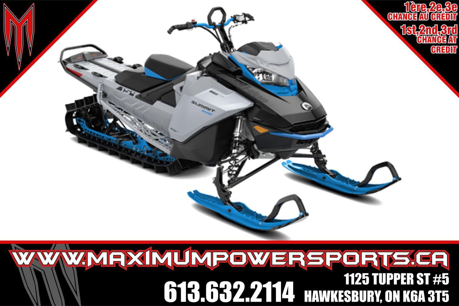 2022 Ski-Doo SUMMIT EDGE 154 850 E-TEC POWDERMAX LIGHT FLEXEDG - SUMMIT EDGE 154 850 E-TEC POWDERMAX LIGHT FLEXEDGE 2.5 SHOT