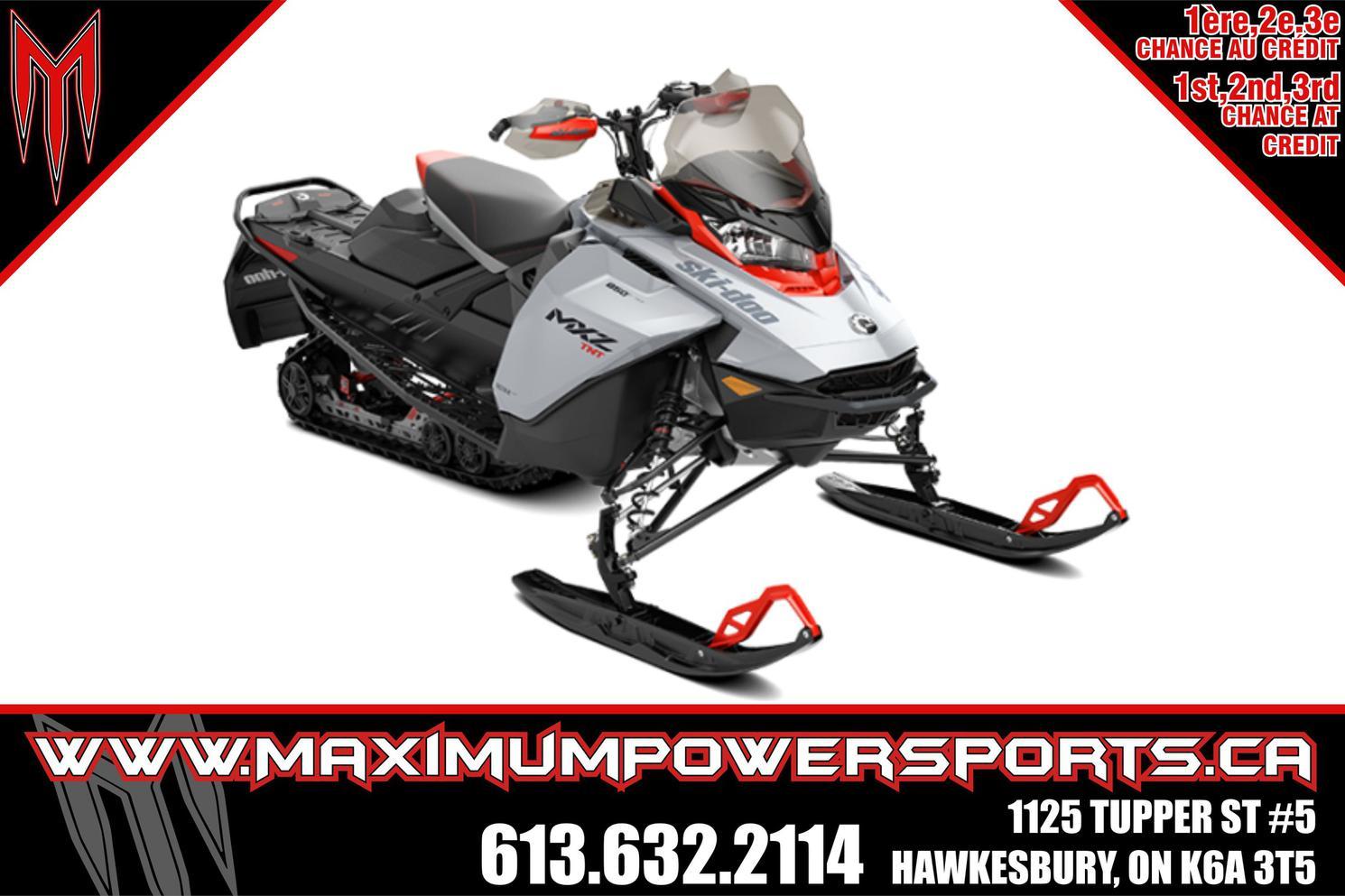 2022 Ski-Doo MXZ - MXZ TNT 600R E-TEC E.S. RIPSAW 1.25