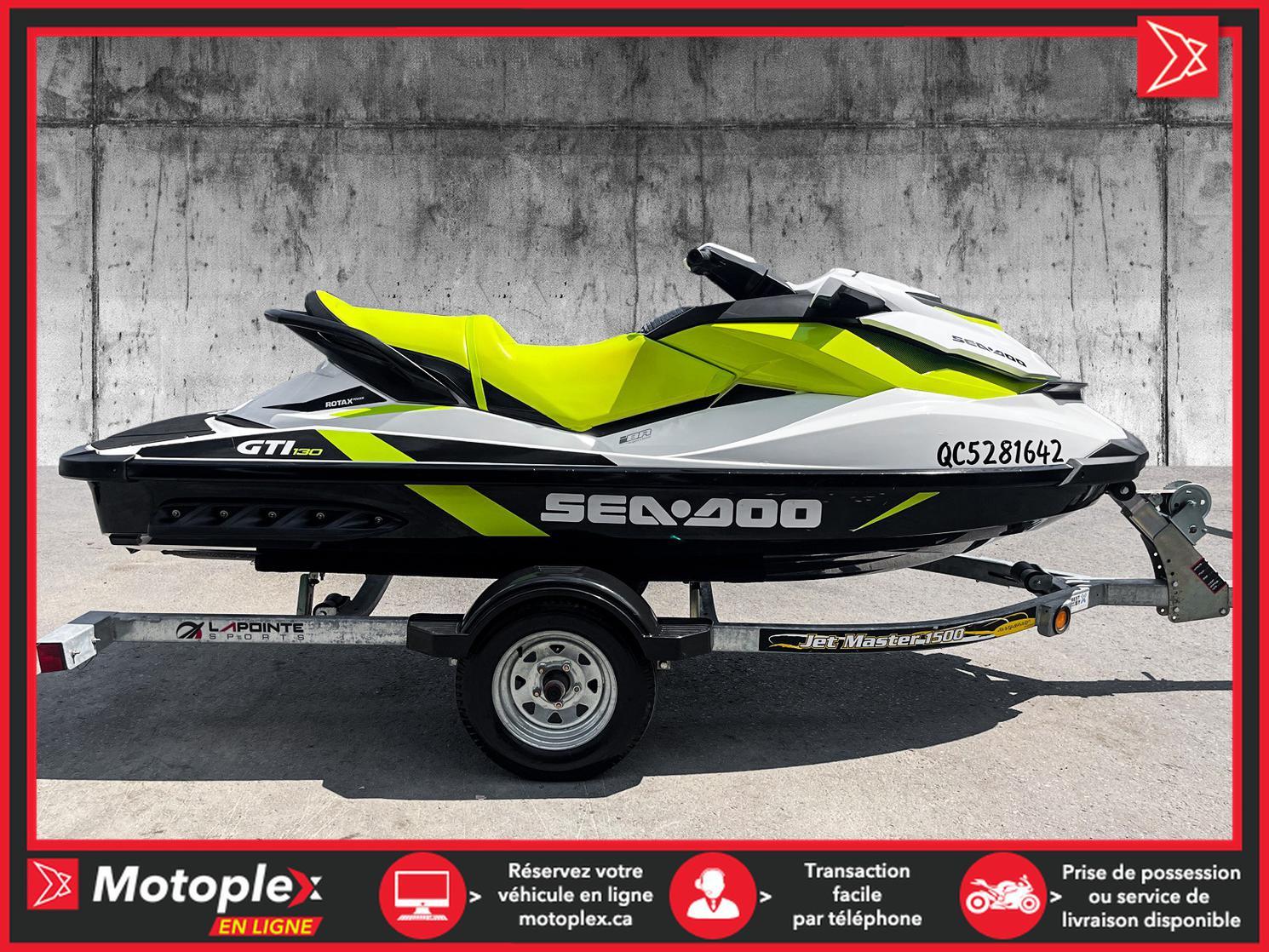 2016 Sea-Doo GTI 130 IBR 2016 54$/semaine