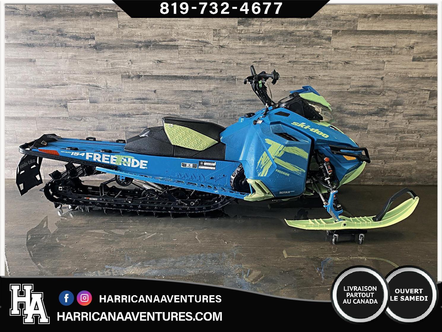 Ski-Doo FREERIDE 800 154 2018